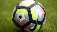 Ilustrasi Logo Liga Inggris. (AFP/Jon Super)