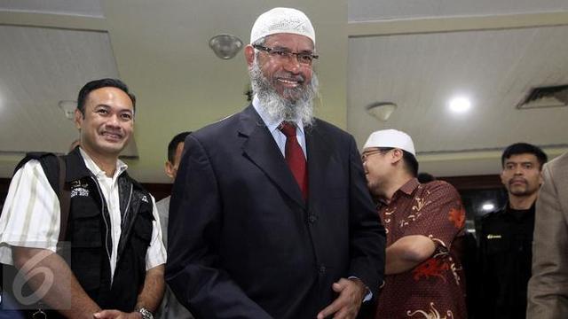 Zakir Naik Bertemu dengan Ketua MPR