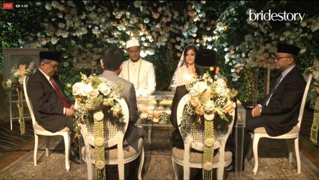 Tasya Kamila menikah hari ini dan tampil begitu cantik/copyright Bride Story