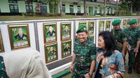 Menteri Kesehatan Terawan Agus Putranto saat menghadiri wisuda Purnawira Pati TNI AD di Magelang. (Foto: Kemenkes RI)