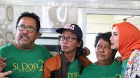 Para pemain Si Doel The Movie 2 mengunjungi Stasiun Gambir dan Terminal Kampung Rambutan
