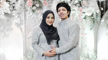 10 Momen Pengajian 4 Bulan Kehamilan Aurel Hermansyah, Penuh Haru Bahagia