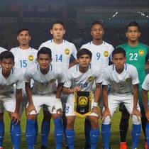 Timnas Malaysia U-23 menang 2-1 atas Korea Selatan pada laga lanjutan Grup E cabang olahraga Asian Games 2018, di Stadion Si Jalak Harupat, Kabupaten Bandung, Jumat (17/8/2018). (dok. FAM)
