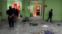Meski ada beberapa ruangna yang hancur  (Liputan6.com/Fitri Haryanti Harsono)