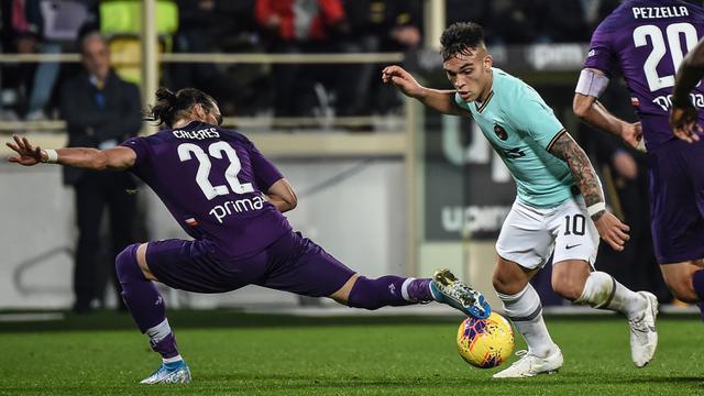 Inter Milan Bermain Imbang di Markas Fiorentina