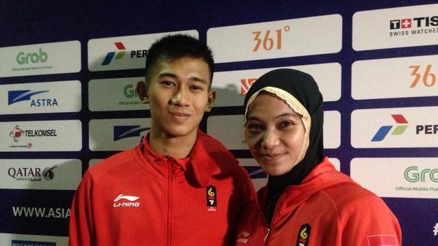 Iqbal Candra dan Sarah Tria Monita