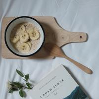 bubur oatmeal/copyright: unsplash/lex sirikiat