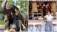 Gaya Gwen Priscilla Eks Mahadewi Saat Liburan yang Cantik Memesona (sumber:Instagram/gwenpriscilla)