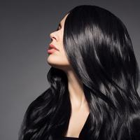 Ilustrasi rambut berkilau/copyright shutterstock