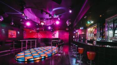 Ilustrasi klub malam.