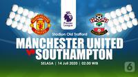 MANCHESTER UNITED VS SOUTHAMPTON  (Liputan6.com/Abdillah)