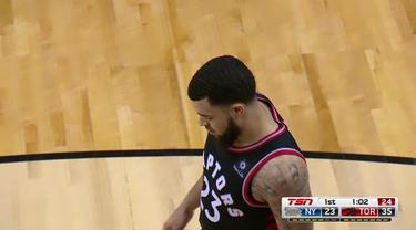 Pascal Siakam mencetak 19 poin untuk memimpin Raptors menang atas Knicks 128-92.