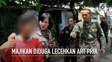 Seorang ART Pria di Depok diduga akan dilecehkan oleh majikannya sendiri.