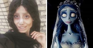 Sahar Tabar, wanita yang melakukan operasi plastik sebanyak 50 kali agar mirip dengan Angelina Jolie (Instagram)