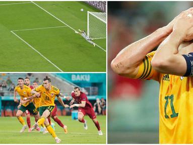 Kapten Timnas Wales, Gareth Bale, gagal mencetak gol lewat tendangan penalti dan menjadi bahan olok-olok netizen di dunia maya. Meskipun demikian Bale berperan penting dalam kemenangan 2-0 Wales atas Turki di Euro 2020 (Euro 2021) berkat dua assistnya.