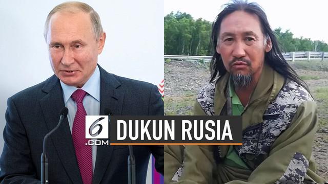Seorang dukun bernama Alexander Sasha Gabyshev ditangkap. Ia adalah orang yang ingin melengserkan Presiden Rusia, Vladimir Putin.