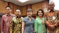 Para pengusaha yang hadir dalam pelantikan Dirjen Pajak Suryo Utomo pada Jumat (1/11/2019) di Kementerian Keuangan.