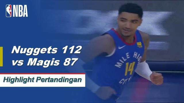 Trey Lyles mencetak 22 poin dari bangku cadangan dan Jamal Murray menambah 16 poin ketika Denver Nuggets mengalahkan Orlando Magic, 112-87.