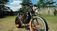 Sepeda listrik buatan Le-Bui
