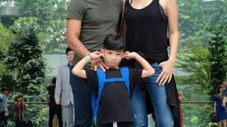Kehidupan rumah tangga Marcell dan Rima semakin lengkap karena dikaruniai seorang putra yang bernama Seth Ananda Siahaan yang lahir pada tanggal 22 September 2014. (Liputan6.com/IG/@marcellsiahaans)