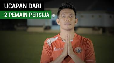 Berita video ucapan dari 2 pemain Persija Jakarta, Sandi Sute dan Bruno Lopes, di hari raya Idul Fitri 1438 H.