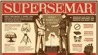 Surat Perintah Sebelas Maret (Supersemar) ini sejarah misterius yang membuat Suharto dan Orde Baru berkuasa 32 tahun. | Via: istimewa