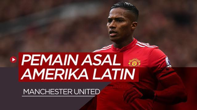 Berita motion grafis 5 pemain asal Amerika Latin terbaik Manchester United. Salah satunya Antonio Valencia.
