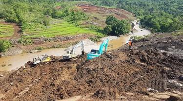 Lokasi pembangunan Bendungan Pammukkulu di Kabupaten Takalar (Liputan6.com/ Eka Hakim)