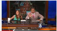 Gempa Bumi di Studio KTLA. (Youtube)