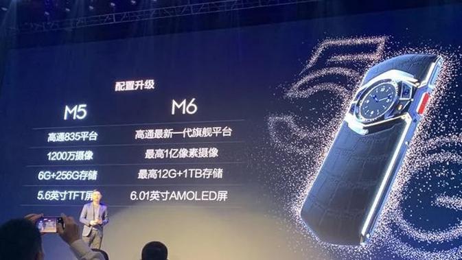 8848 ungkap Titanium M6 5G sebagai smartphone pertama yang pakai Snapdragon 865. (Doc: Ithome)