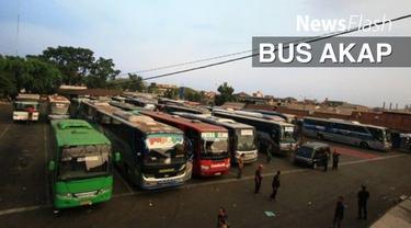Suku Dinas Perhubungan Jakarta Barat (Sudinhub Jakbar) menindak puluhan bus antar kota antar propinsi (Akap) di Terminal Kalideres, Jakarta Barat.