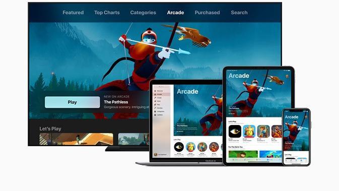 Layanan Apple Arcade yang baru diperkenalkan (sumber: Apple)