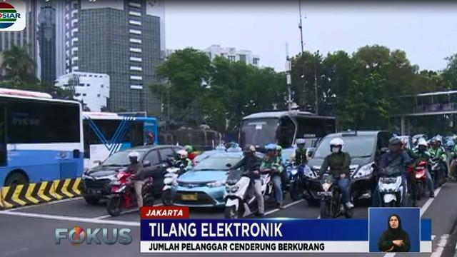 Pemberlakukan tilang elektronik diperuntukan untuk platnomor B wilayah DKI Jakarta, Depok, Tangerang, dan wilayah Bekasi.