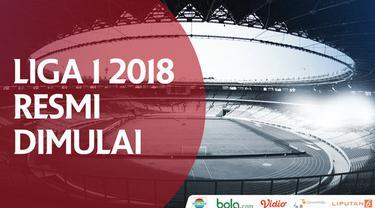 Berita video Liga 1 2018 yang resmi dimulai dan Menpora Imam Nahrawi lakukan seremoni kick-off sebelum pertandingan pembuka Bhayangkara FC vs Persija Jakarta di SUGBK, Senayan, Jumat (23/3/2018).