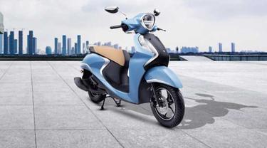 Yamaha Fascino 125 dibekali dengan fitur hybrid
