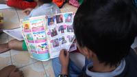 Anak-anak dengan HIV/AIDS (ADHA) di Rumah Singgah Lentera, Solo, Jawa Tengah. (Liputan6.com/Fajar Abrori)