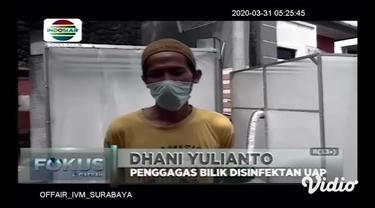 Dalam upaya pencegahan Covid-19 banyak yang dilakukan oleh sebagian daerah demi melindungi warganya, sebagaimana yang dilakukan oleh warga Perumahan Puri Indah, Sidoarjo Jawa Timur ini. Selain membuat disinfektan sendiri, warga juga membuat bilik iso...