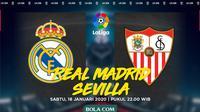 La Liga - Real Madrid Vs Sevilla (Bola.com/Adreanus Titus)