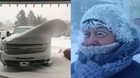 Potret fenomena yang terjadi saat musim salju (Sumber: Brightside)