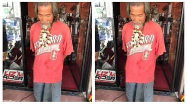 Kalau kamu yang jadi pegawai toko bagaimana jika melihat kakek dengan baju lusuh datang ingin membeli Harley Davidson? (Foto: en.goodtimes.my)