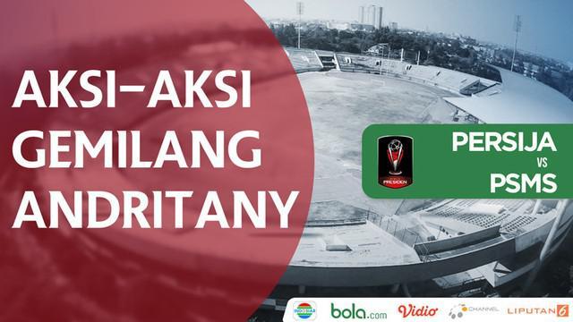 Berita video beragam aksi gemilang kiper Andritany Ardhiyasa yang membuat PSMS Medan tak bisa membobol gawang Persija Jakarta pada semifinal leg II Piala Presiden 2018, Senin (12/2/2018).