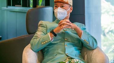 Menteri Perindustrian Agus Gumiwang Kartasasmita di Jakarta, Minggu (25/4/2021). (Foto: Kemenperin)