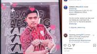 Aldi Taher membuatkan lagu buat Persis Solo usai dimintai langsung oleh Kaesang Pangarep. (dok. Instagram/Aldi Taher)