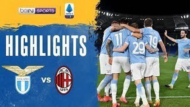 Berita video highlights Liga Italia 2020/2021 pekan ke-33 antara Lazio melawan AC Milan yang berakhir dengan skor 3-0, Selasa (27/4/2021) dinihari WIB.