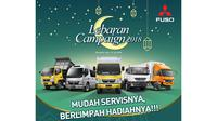 Manjakan konsumen di Bulan Ramadan, lebaran dan setelah lebaran Mitsubishi Fuso berikan diskon service besar-besaran.