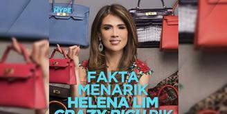 Fakta Menarik Helena Lim, Crazy Rich PIK yang Viral karena Sudah Divaksin Covid-19
