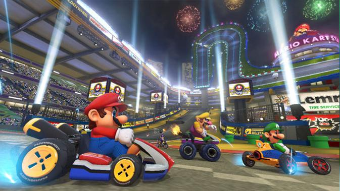 Mario Kart. (Doc: Nintendo)