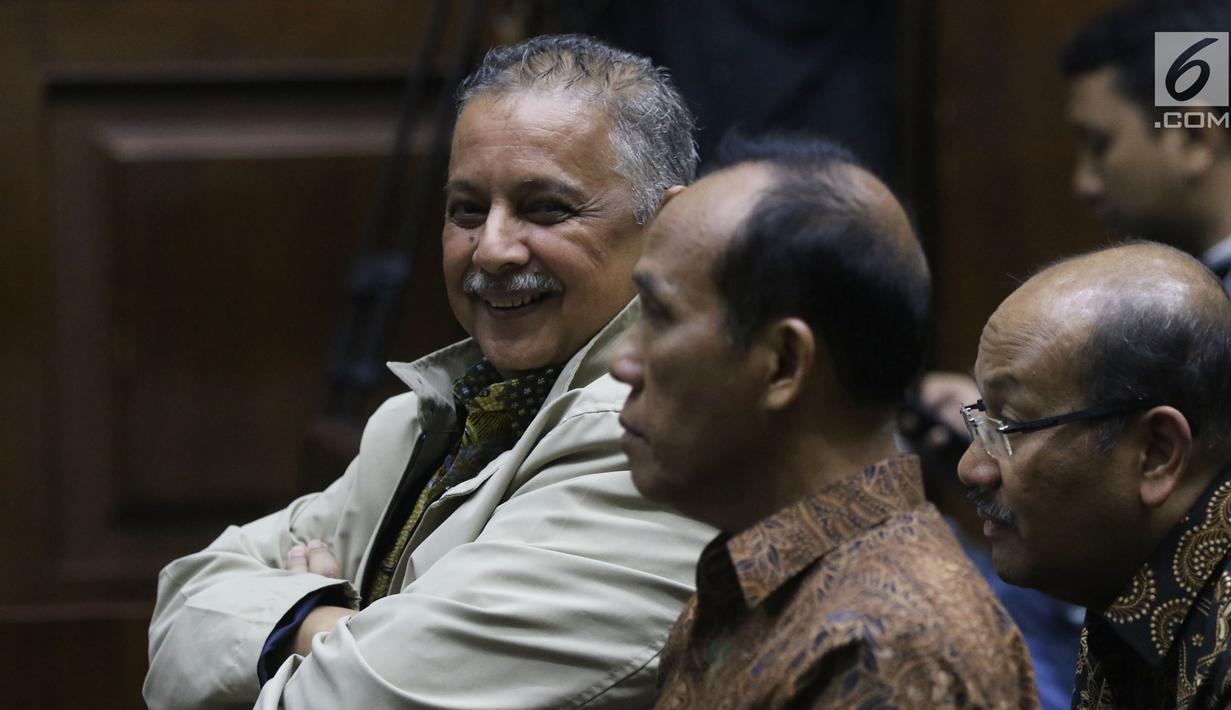 FOTO: Dirut PLN Sofyan Basir Jadi Saksi Sidang Dugaan Suap
