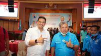 Deklarasi dukungan terhadap pasangan Bobby-Aulia selaku pengusung #KolaborasiMedanBerkah digelar di Grand Cityhall Medan, Jumat, 25 September 2020.