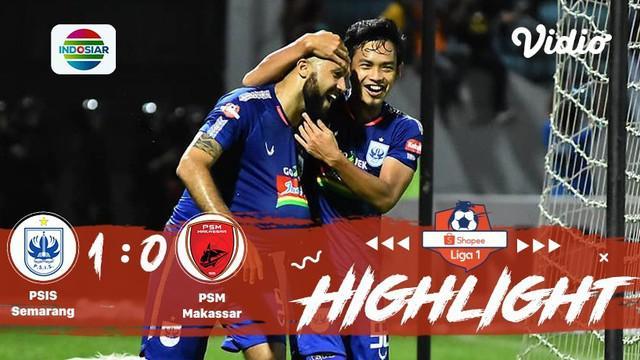 Babak Penyisihan #ShopeeLiga1 yang mempertemukan #PSIS Semarang FC vs #PSM Makasar pada hari Rabu (27/11/2019) berakhir dengan sko...